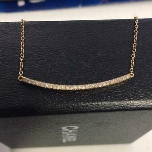 Jewelry - Beautiful smile diamond necklace